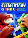 Content Area Literacy Instruction for the Elementary Grades 9780205366194