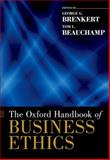 The Oxford Handbook of Business Ethics 9780199916221