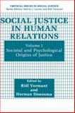 Social Justice in Human Relations 9780306436253