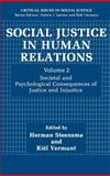 Social Justice in Human Relations 9780306436260