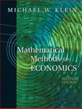Mathematical Methods for Economics 2nd Edition