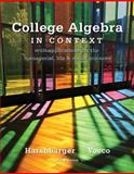 College Algebra in Context 9780321756268