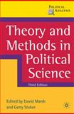 Theory and Methods in Political Science 3rd Edition