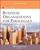 Business Organizations for Paralegals, Fifth Edition 9780735576285