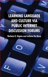 Learning Language and Culture Via Public Internet Discussion Forums 9780230576308