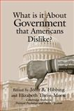 What Is It about Government That Americans Dislike? 9780521796316