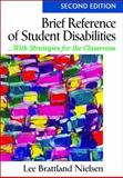Brief Reference of Student Disabilites 9781412966320