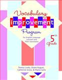 Vocabulary Improvement Program for English Language Learners and Their Classmates, 5th Grade 9781557666321