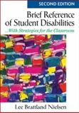 Brief Reference of Student Disabilites 2nd Edition
