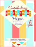 Vocabulary Improvement Program for English Language Learners and Their Classmates, Sixth Grade 9781557666338