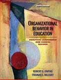 Organizational Behavior in Education 9780205486366