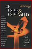 Of Crime and Criminality 9780761986386