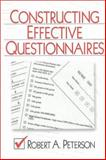 Constructing Effective Questionnaires 9780761916406