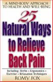 25 Natural Ways to Relieve Back Pain 9780658006425