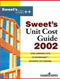 Sweet's Unit Cost Guide 2002 9780071386432