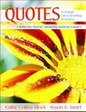 Quotes to Inspire Great Reading Teachers 9781412926478