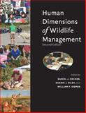 Human Dimensions of Wildlife Management 2nd Edition