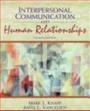 Interpersonal Communication and Human Relationships 9780205176724