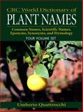 Crc World Dictionary of Plant Names 9780849326738
