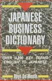 Japanese Business Dictionary 9780804816748