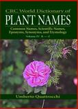 World Dictionary of Plant Names 9780849326783
