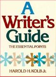 A Writer's Guide 9780155976801