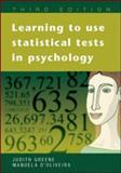 Learning to Use Statistical Skills in Psychology 9780335216819