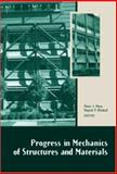 Progress in Mechanics of Structures and Materials 9780415426923