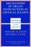 Mechanisms of Organ Dysfunction in Critical Illness 9783540426929