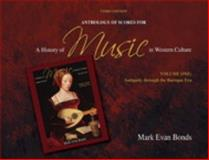 A Anthology of Scores for a History of Music in Western Culture 9780205656974
