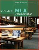 A Guide to MLA Documentation 9th Edition