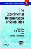 The Experimental Determination of Solubilities 9780471497080