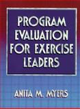 Program Evaluation for Exercise Leaders 9780880117098
