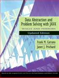 Data Abstraction and Problem Solving with Java, Walls and Mirrors 9780321197177