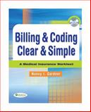 Billing and Coding Clear and Simple 9780803617186