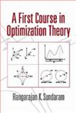 A First Course in Optimization Theory 9780521497190