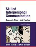 Skilled Interpersonal Communication 9780415227193