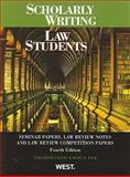 Scholarly Writing for Law Students 9780314207203
