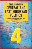 Developments in Central and East European Politics 9780230517387