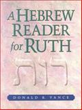 A Hebrew Reader for Ruth 9781565637405