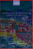 Language and National Identity in Asia 9780199267484