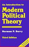 An Introduction to Modern Political Theory 9780312127503