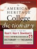 The American Heritage College Dictionary 9780547247663