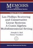 Lax-Phillips Scattering and Conservative Linear Systems 9780821837689