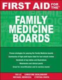 First Aid for the Family Medicine Boards 9780071477710