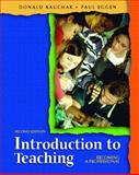 Introduction to Teaching 9780131137714