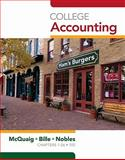 College Accounting, Chapters 1-24 9781439037751