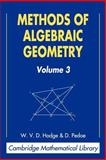Methods of Algebraic Geometry 9780521467759