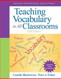 Teaching Vocabulary in All Classrooms 9780132837781