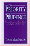 The Priority of Prudence 9780271007786